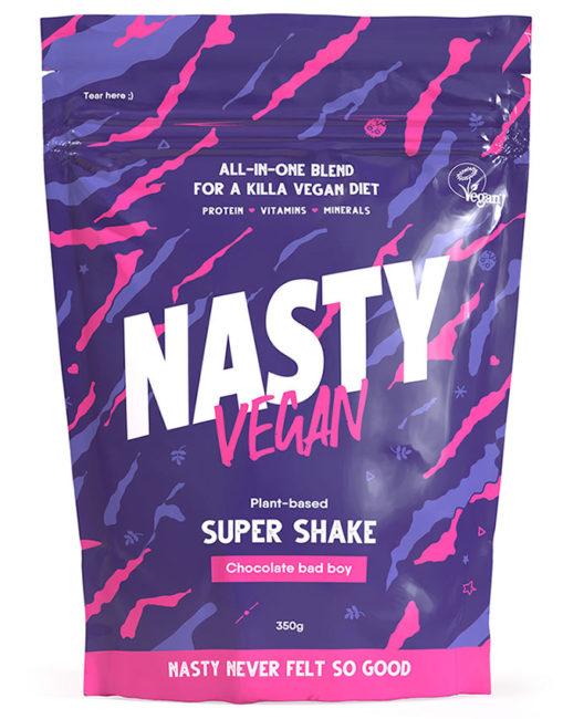 nasty-vegan-plant based protein shake